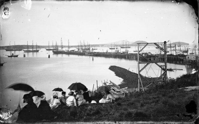 1864 Queen Street Wharf Auckland