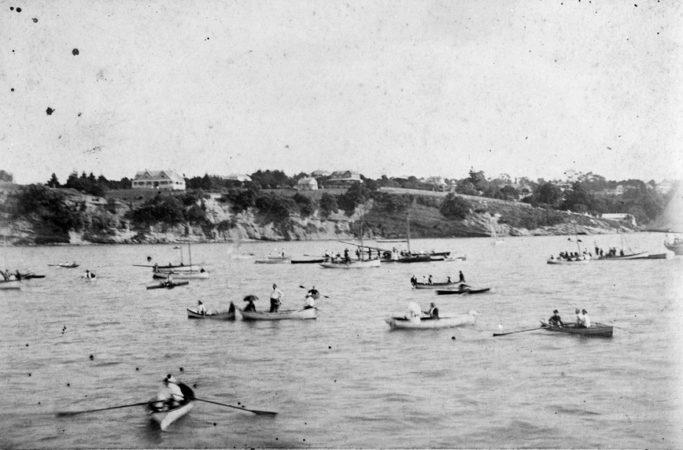 1887 Auckland Anniversary Regatta