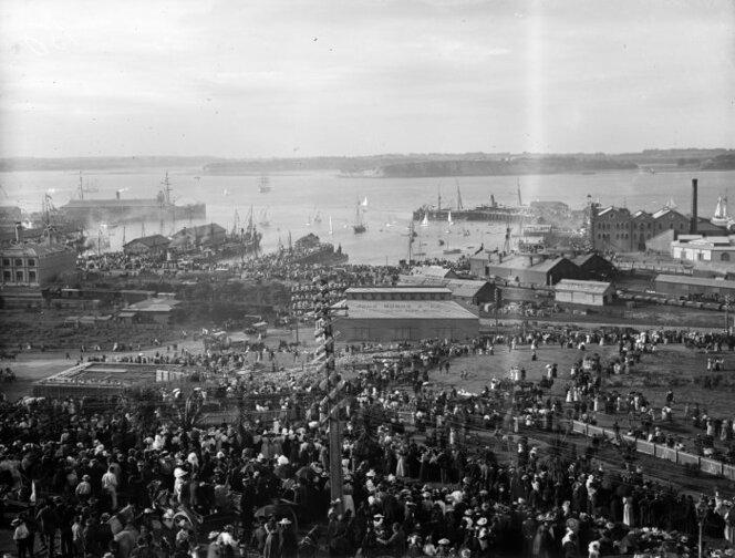 1890s Auckland Anniversary Regatta