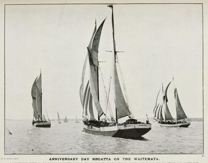 Auckland Anniversary Day regatta 1905