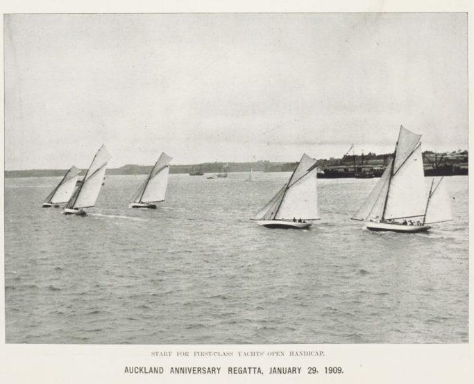 Anniversary Regatta 1909