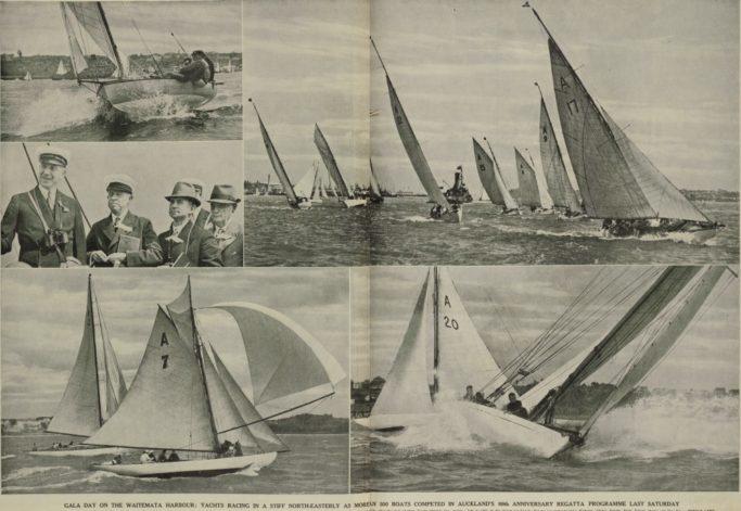 1939 Auckland Anniversary Regatta